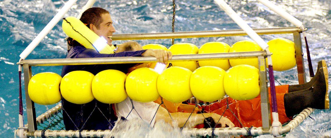 Testing Sea Rescue Equipment